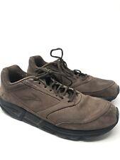 Brooks Addiction Walker Men's Brown Suede Lace Up Walking Shoes Size 12.5 B