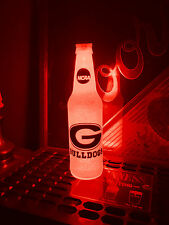 NCAA Georgia Bulldogs Football 12 oz Beer Bottle Light LED March Madness