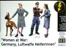 Masterbox 1:35 Women At War Luftwaffe Helferinnen WWII Era Figures Model Kit