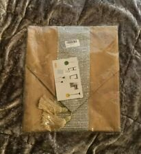 BNIP Beautiful Sparkly Table Runner Gold 210cm