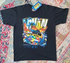 NEW Vintage Ernie Irvan m&m's Nascar Double Sided T Shirt Size Large M&M's brand