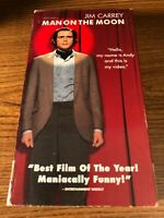 Man On The Moon VHS VCR Video Tape Movie Jim Carrey Used