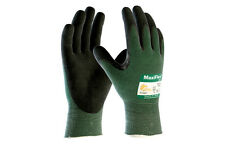 MaxiFlex Cut Resistant 34-8743 Level 3 Nitrile Coated Palm Glove - Size 12 XXL