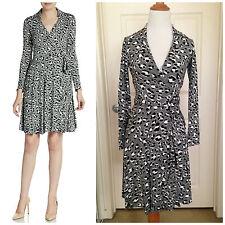"""NWT $368 Diane Von Furstenberg  DVF """"T72"""" Wrap Dress 0"""