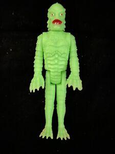 """Vintage Universal Monsters 3.75"""" figure Glow In Dark Creature Remco 1980 Lagoon"""