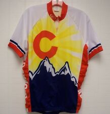Colorado Adult Large Dry Fit Bicycle Mountain Road Bike Racing Shirt Jersey #16