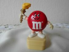 M&M M&MS HAPPY RED ROUND OLYMPIC TORCH TOPPER
