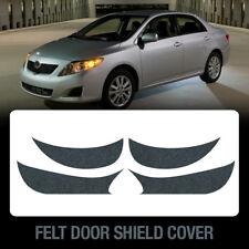 Felt Door Shield Cover Scratch Kick Protector Set for TOYOTA 2009-2010 Corolla