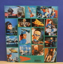 1x Sticker Sheet green - aufkleber Thunderbirds 1993 org.back 90's (0783)