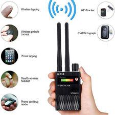 Rf Signal Detector,Full Range Wireless Anti-Spy Gsm Audio Bug Gps Tracker Finder