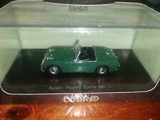 Ebbro 1/43 Austin Healey Sprite Mk.1 green 44455 resin model