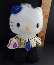 Hello Kitty Plush Doll Sanrio Dear Daniel Uniform with Valentine Heart Stuffed
