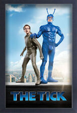 THE TICK ROOF TOP 13x19 FRAMED GELCOAT COMIC TELEVISION FUNNY GIFT NEW WEB COOL