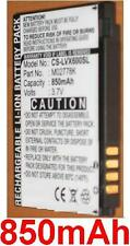 Batterie 850mAh type LGIP-490A M02778K Pour LG Lotus LX600
