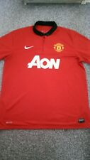MANCHESTER UNITED 2010/11 CHAMPIONS HOME SHIRT ADULTS XL EXTRA LARGE