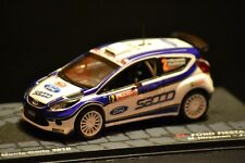 Ford Fiesta S2000 2010 Monte Carlo diecast vehicle in scale 1/43