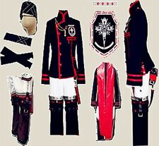 D Gray-man Lavi Version 3 Cosplay Costume New