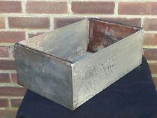 Vintage Metal Industrial Storage Box Bin Drawer Tool Box Hobbies Crafts Garage