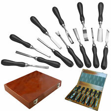 Professional Wood Chisel Carving Set Carpenters Hand Tool Set With Wooden Case