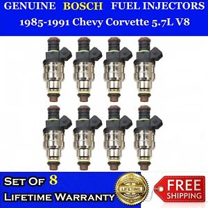 8x 4 Hole Upgraded Bosch Fuel Injectors for 85-91 Chevy Corvette 5.7L V8