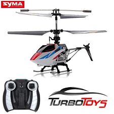NEW - SYMA S800G 4CH RC MINI GYRO HELICOPTER - WHITE UNIT - AUS SELLER & STOCK -