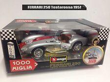 BURAGO 1/18 FERRARI 250 TESTAROSSA anno 1957 Mille Miglia