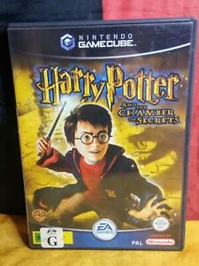 Harry Potter and the Chamber of Secrets (Nintendo GameCube PAL, 2002, EA)