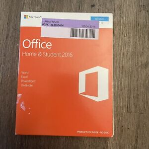 Microsoft Office Home & Student 2016 Software for Windows (79G04589) with key