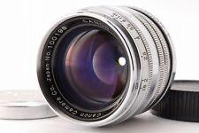 【EXC+++】 Canon M39 L39 LTM 50mm f/1.8 Leica Screw Mount Rangefinder Lens 0228H