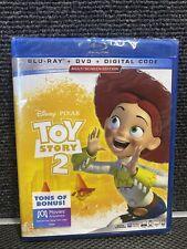 Disney Pixar Toy Story 2( Blu-Ray + Dvd + Digital) New