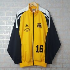 Vintage Adidas Tracksuit Jacket Track Top Yellow/black Size 44/46 L/XL