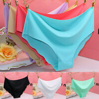 Women Soft Underpants Seamless Lingerie Briefs Hipster Underwear Panties