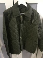 Barbour Jacket Xl Olive Green