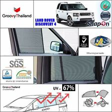 6 PCS SET FOLDABLE MESH CURTAIN SUN SHADEFIT FIT LAND ROVER DISCOVERY4 SNAPON