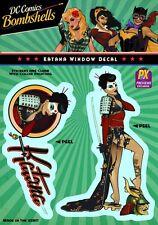 Bombshells Katana DC Comics Licensed Sticker PX Decal