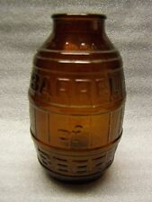 Barrel of Beer Brown Glass Beer Bottle Wide Mouth 1972