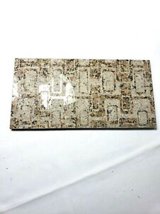 Textured granite centerpiece tray Stone Cutting Board cheese food platter brown