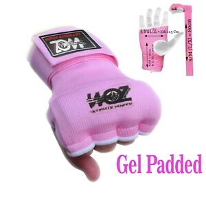 Ladies Women Inner Boxing Quick Hand Wraps Gloves Fist Gel Bandages MMA Straps