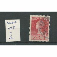 Nederland 121K-124K  Jubileum 1923  VFU/gebr  CV 28 €