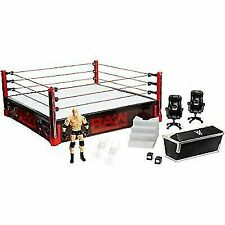 WWE Elite Collection Raw Main Event Ring Playset - DXG60