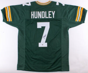Brett Hundley Signed Packers Jersey (JSA) Aaron Rodgers Back Up 2017 Starting QB