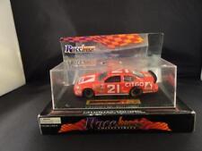 NASCAR RACE IMAGE 1:43 MICHAEL WALTRIP #21 CITGO Die-Cast FORD CAR Display Case