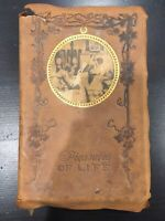 Antique 1887 Pleasures Of Life by Sir John Lubbock - H M Caldwell Co. EXCELLENT