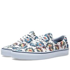 Vans Era Vintage Floral Classic White Dress Blues VN-0ZULFT5 Women's Size 5