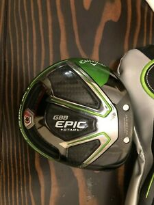 Callaway EPIC STAR driver Head Only. 10.5 degree. Near MINT