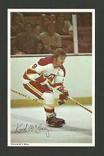 Keith McCreary Vintage Atlanta Flames 1970s Hockey Postcard