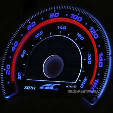 Autotechnic S7 3D Silver White Glow Gauge Faces for E36 92 93 94 96 98 323 328