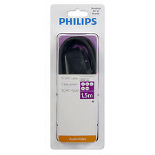 PHILIPS  SWV2540H/10 CABLE SCART EUROCONECTOR DE AUDIO Y VIDEO -1,5 METROS