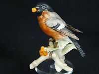 VINTAGE GOEBEL W GERMANY 1927 BULLFINCH BIRD FIGURINE FIGURINE 6.25""