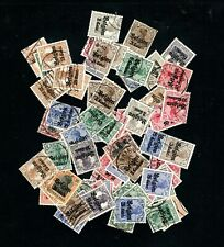 Belgium -- German occupation -- 60+ used from 1914-18 -- with duplicates
